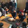 大淀西地域の避難訓練