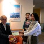 レインボーハウス神戸を訪問し、TJWK2016年度の売上全額を寄付しました
