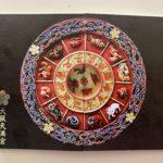 大阪天満宮の十二支方位盤の御朱印帳